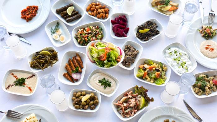 Turkish Recipes: Meze Plate