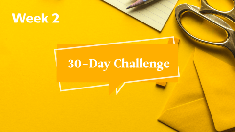 Babbel 30-Day Challenge Week 2: Writing