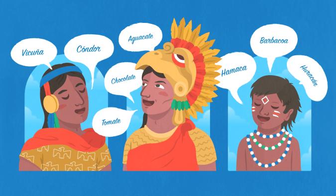historia da lingua espanhola americas