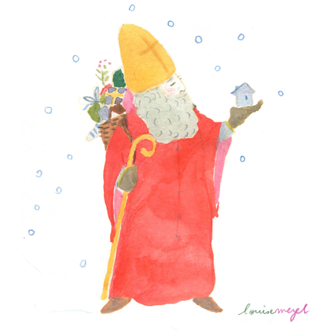 Fêtée dans l'Est de la France et en Allemagne, la Saint-Nicolas est célébrée le 6 décembre