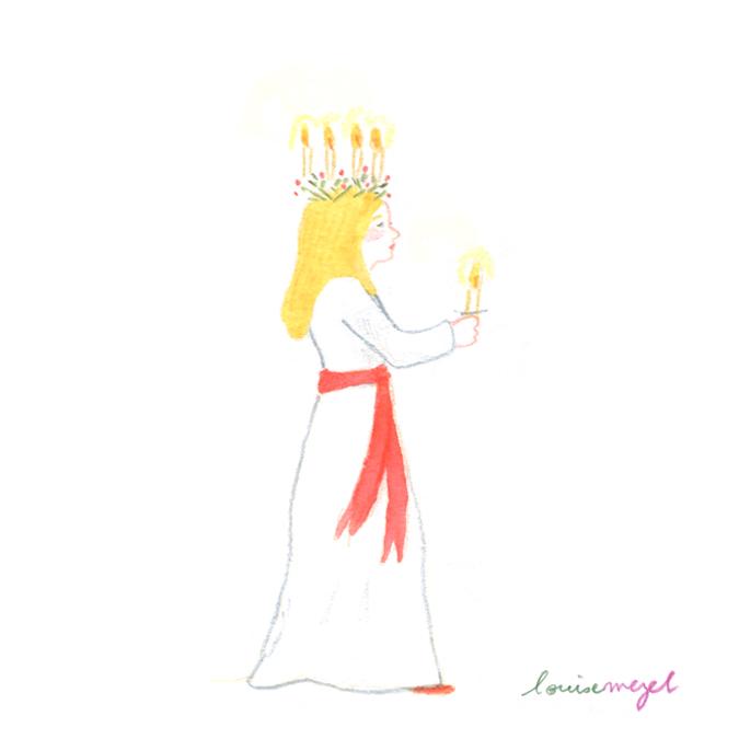 Sankta Lucia - ou simplement Lucia - est célebrée chaque 13 décembre en Suède