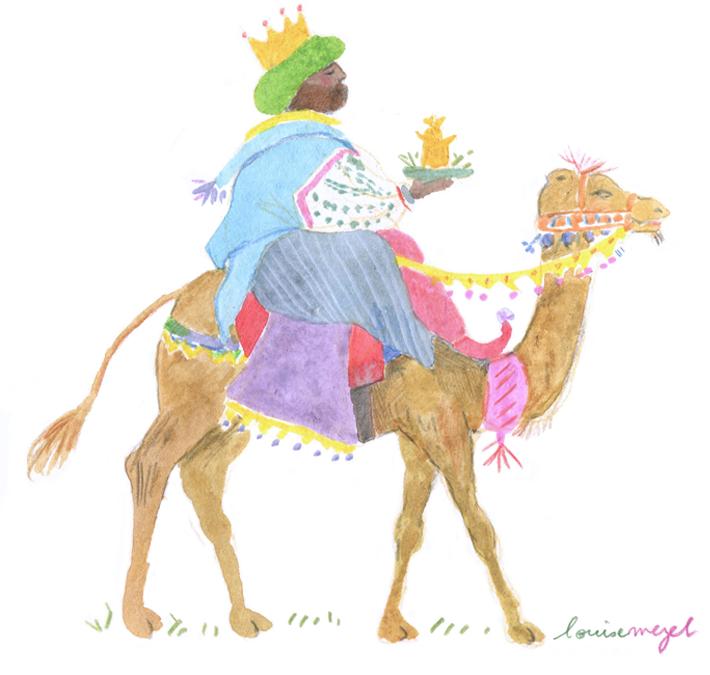 la galette symbolise les cadeaux des rois mages et ce plat reste dans les habitudes.