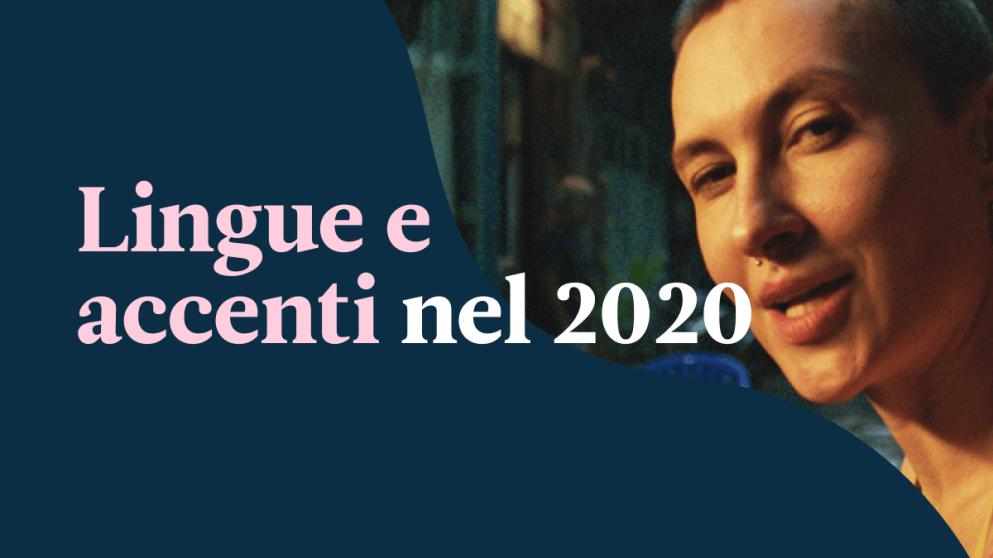 Solo il 12% degli italiani è orgoglioso del proprio accento