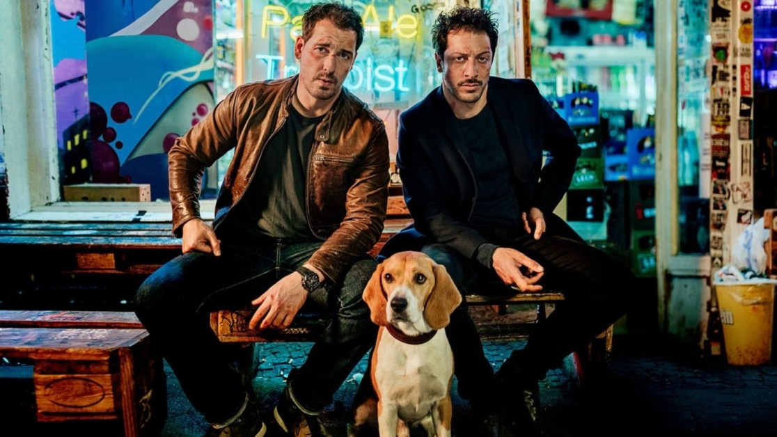 Dogs of Berlin poster featuring two characters - best Netflix shows to watch German