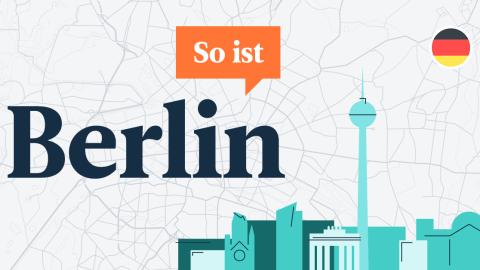 """""""So ist Berlin"""": un nuevo pódcast para estudiantes de alemán"""
