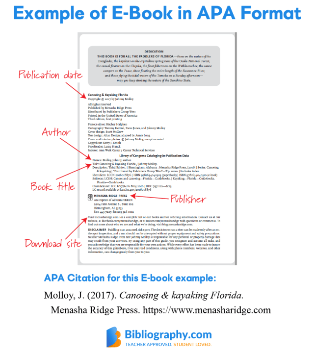 6 APA Book Reference Examples  Bibliography.com
