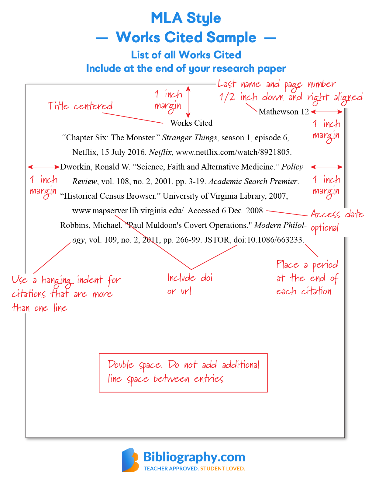 hight resolution of Bibliography Examples for Students   Bibliography.com