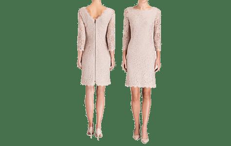 Beige kleid als hochzeitsgast  Trendige Kleider fr die