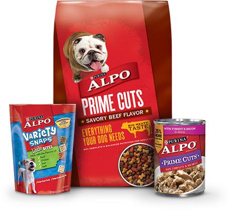 ALPO Prime Cuts Savory Beef Flavor Dry Dog Food 47lb bag