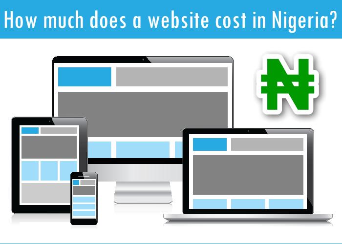 develop a website in Nigeria