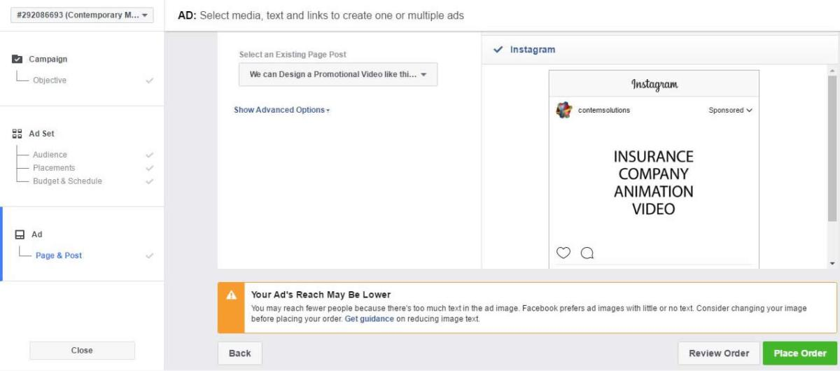 creating Instagram Ads in Nigeria