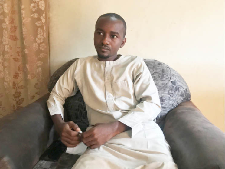 Aminu Idris, Dadiyata's younger brother says it's been difficult not knowing where his brother is, but the family has lost faith in the ability of security agents to get to the bottom of the case
