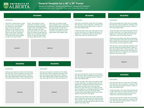 poster templates digital imaging facility