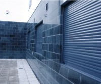 Integr8 180BL SFS concealed security shutter | Charter ...