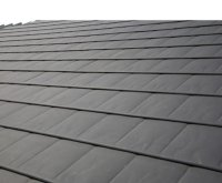 Meta-SlatePlus insulated slate-effect roofing system | A ...