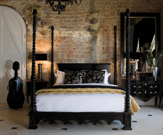 Venetian Four Poster Bed And So To Bed ESI Interior Design