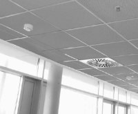 Expanded metal suspended ceilings