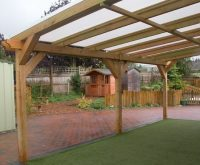 Stanion wooden canopy | Lockit-Safe | ESI External Works