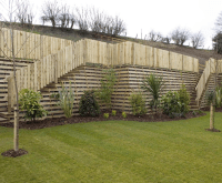 Gallery of Curved Timber Retaining Wall - Fabulous Homes ...