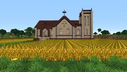 Old Minecraft Church