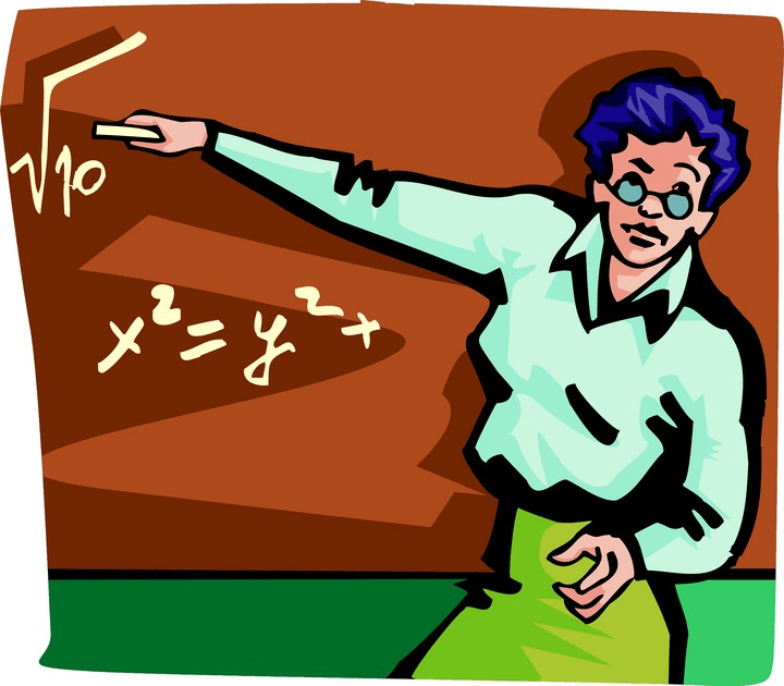 Teacher image is from www.clipart.com