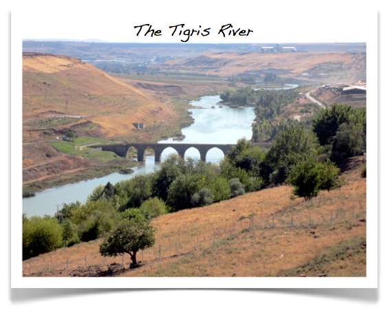 Photo of the Tigris River