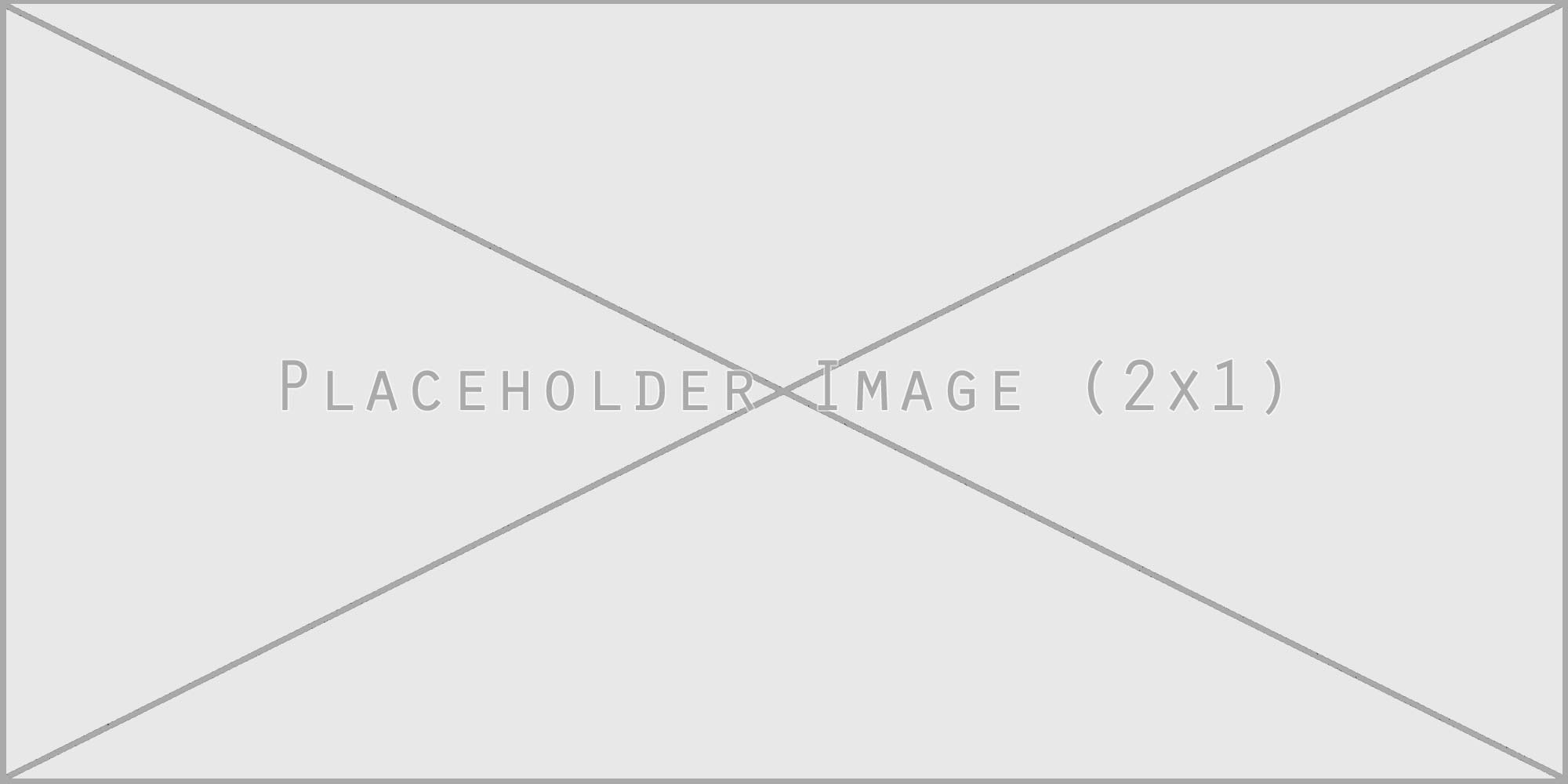 Placeholder Image-2x1