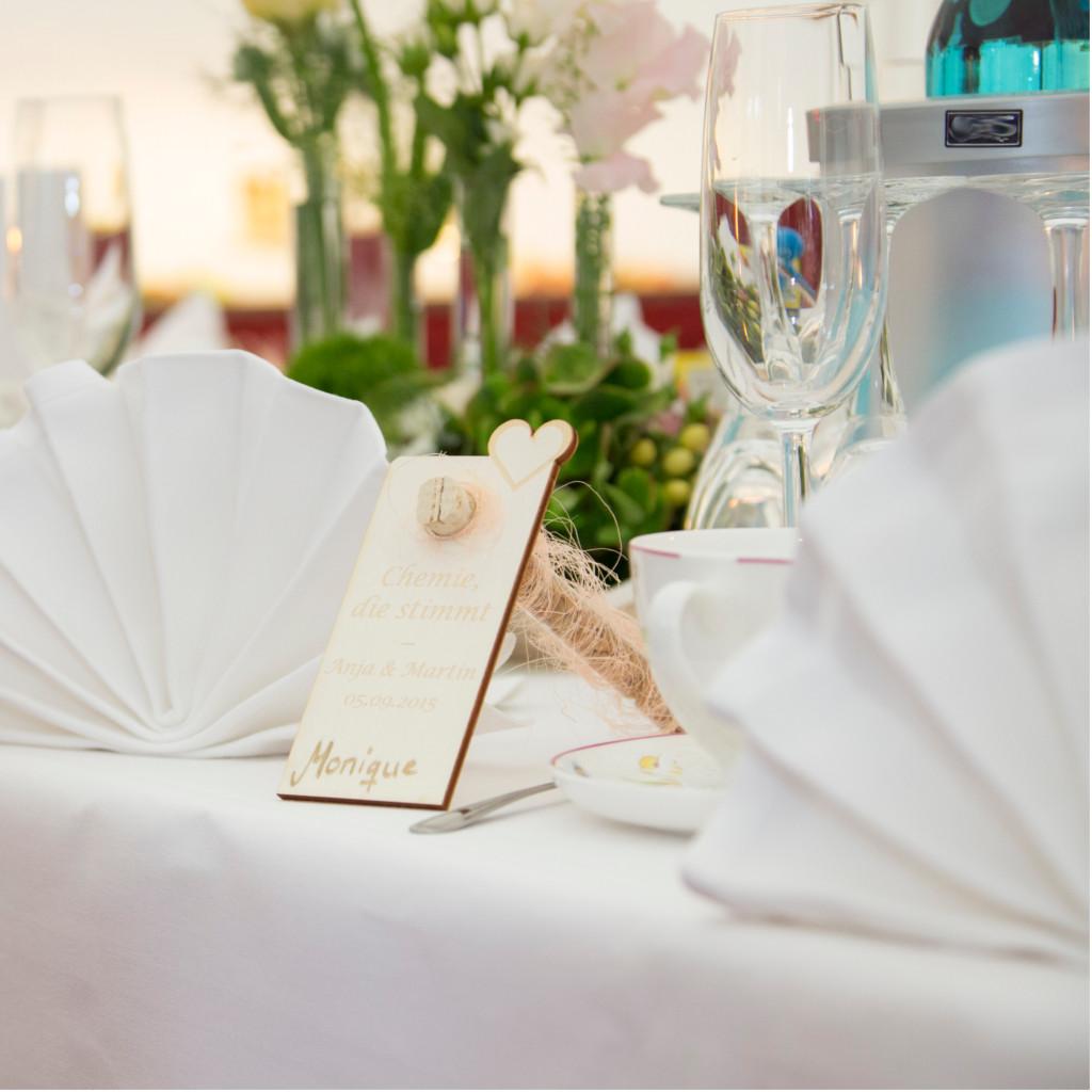 Tischkarten zur Hochzeit  Ideen und Zubehr zur Hochzeit