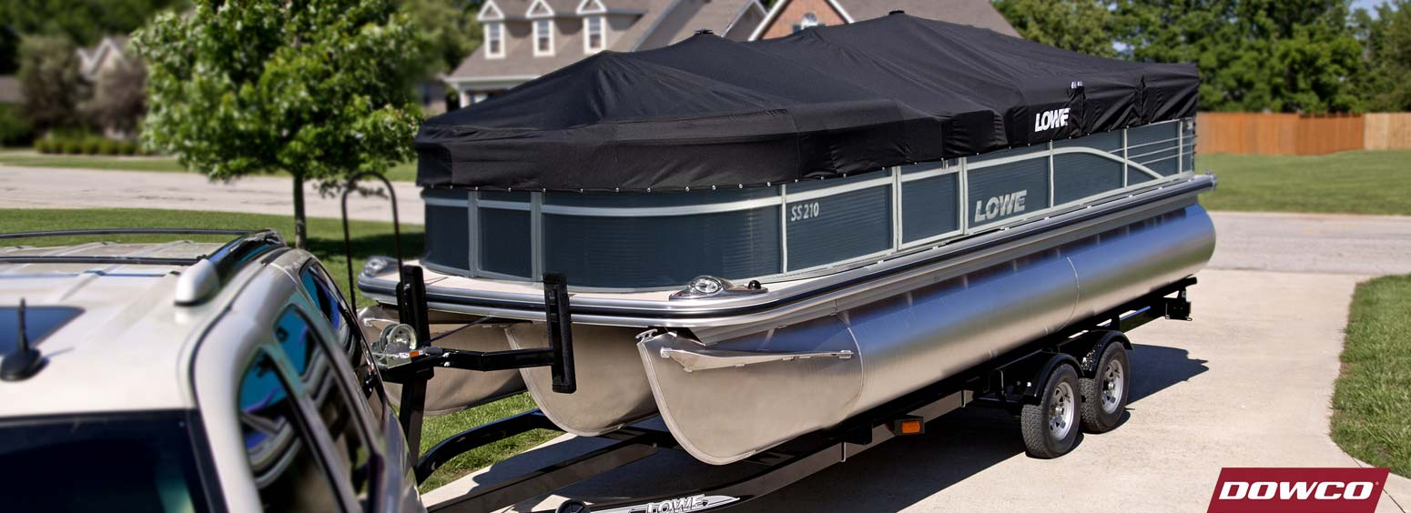 hight resolution of lowe pontoon covers