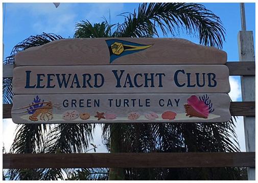 Leeward Yacht Club Marina Resort Green Turtle Cay Bahamas