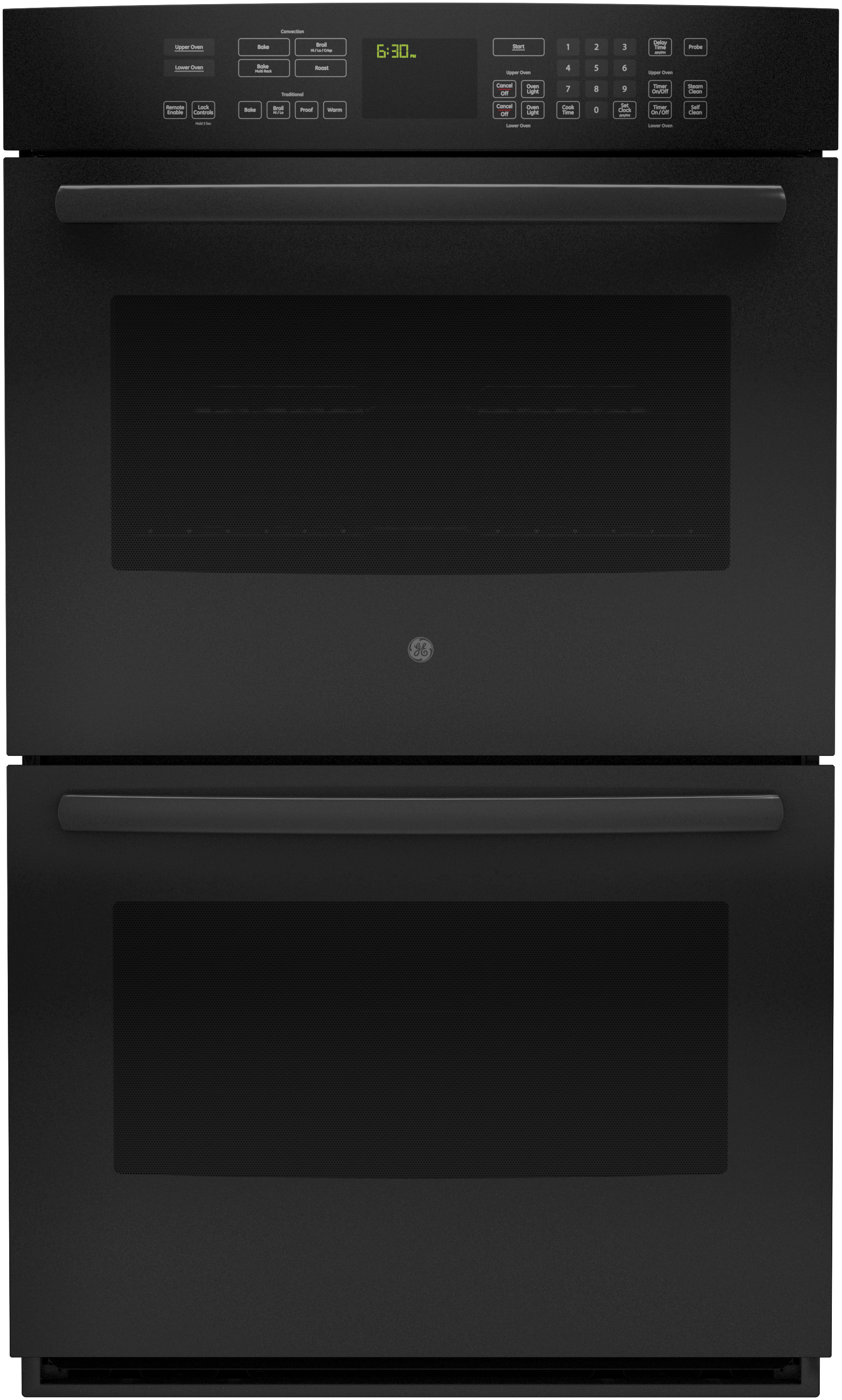 hight resolution of ge double wall oven
