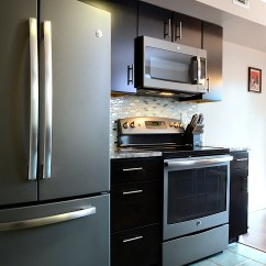 Slate Kitchen Appliances Outdoor Storage Cart Consumers Go Gray In A Stylish Waywith Ge Kitchens