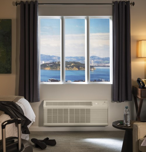 small resolution of the leader in quiet performance ge appliances brings hotel owners the quietest ptacs