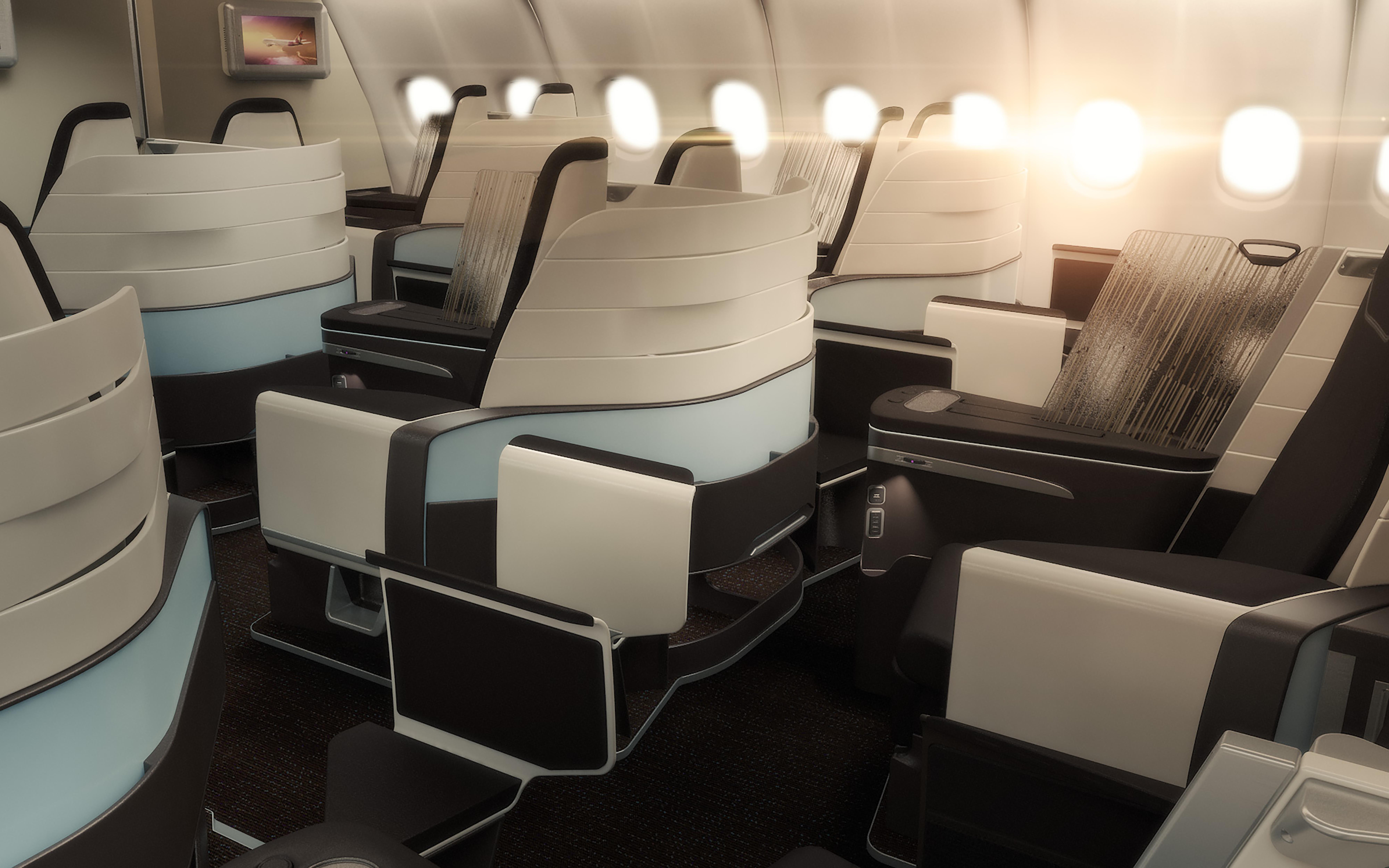 Hawaiian Chair Hawaiian Airlines Announces Premium Cabin Redesign Of Its Airbus