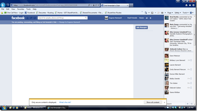 Why My Facebook Page Blank