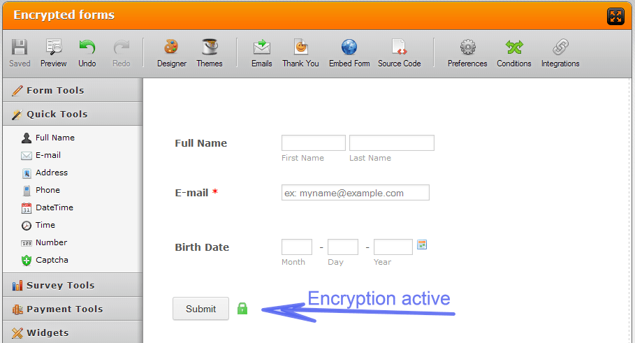 Encryption Security Policy
