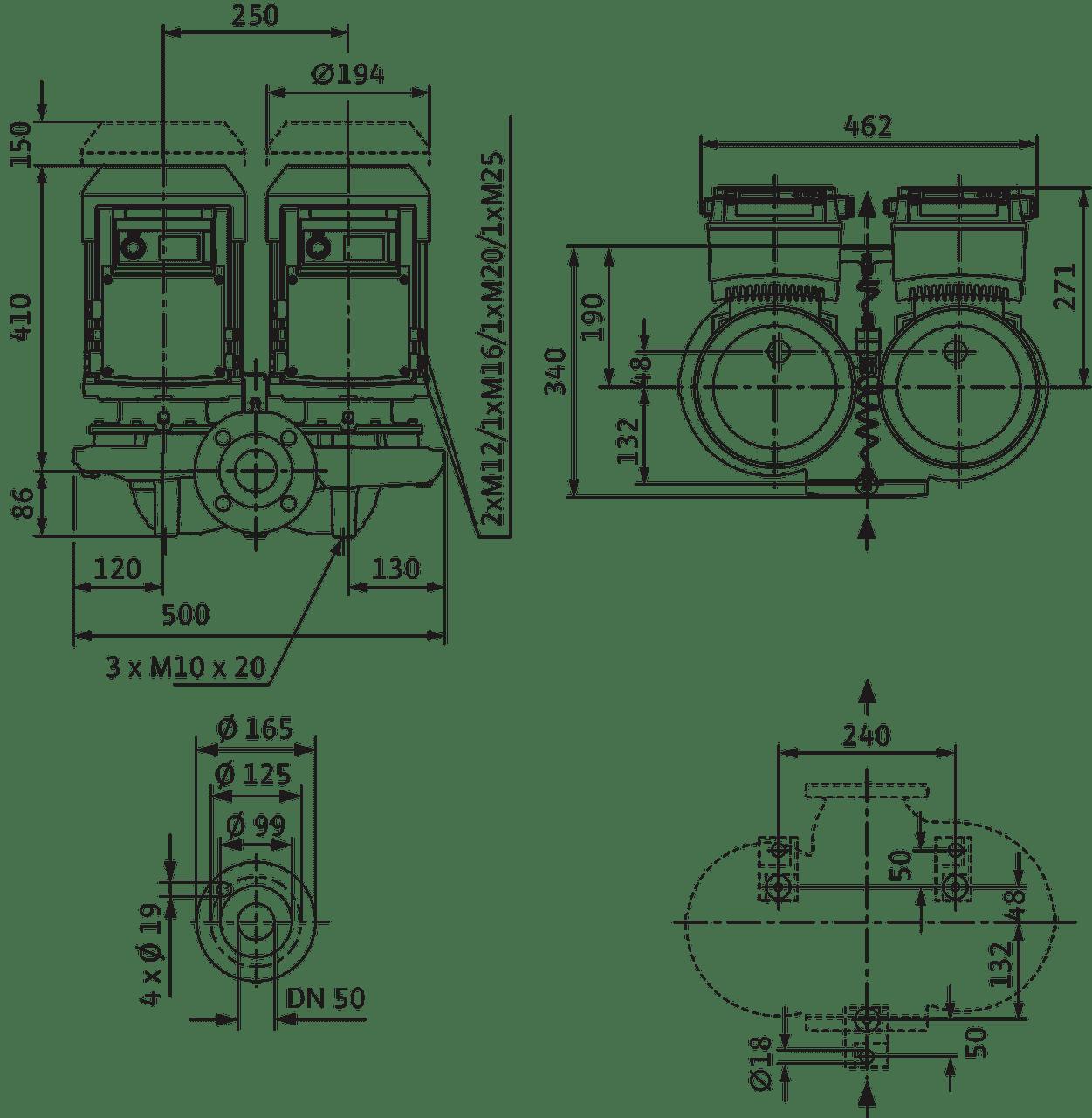Verotwin Dp E 50 140 3 2 R1