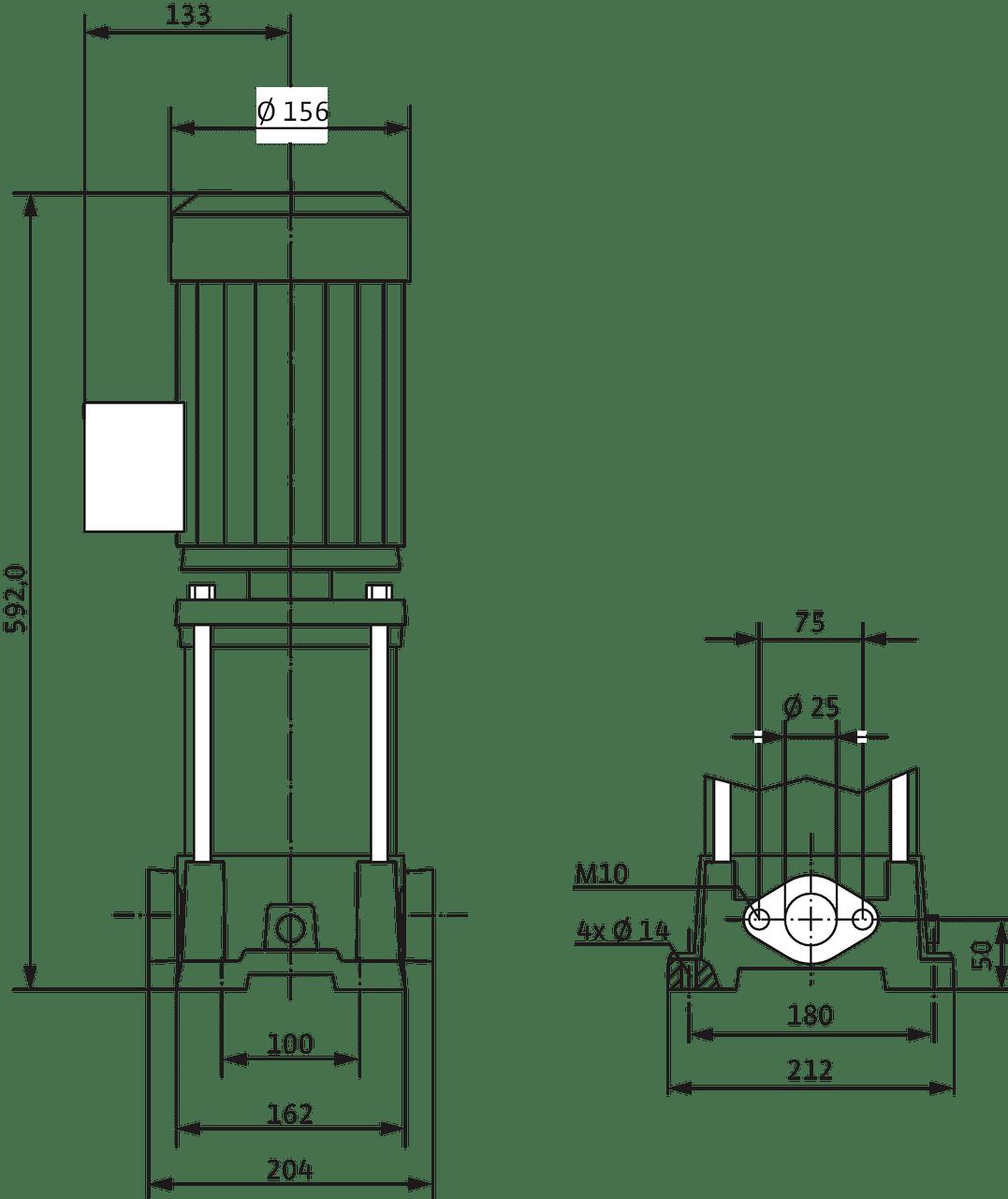 Multivert Mvil 310 1 230 V