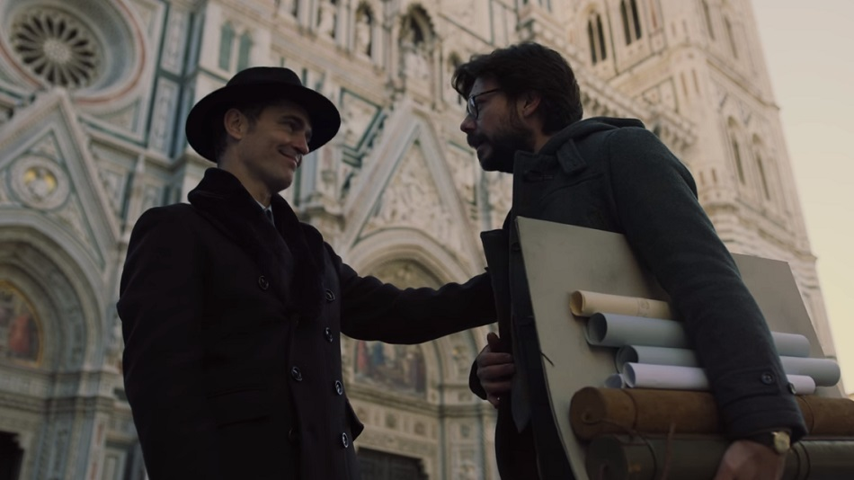 Berlin appeared in the first episode of the third season of