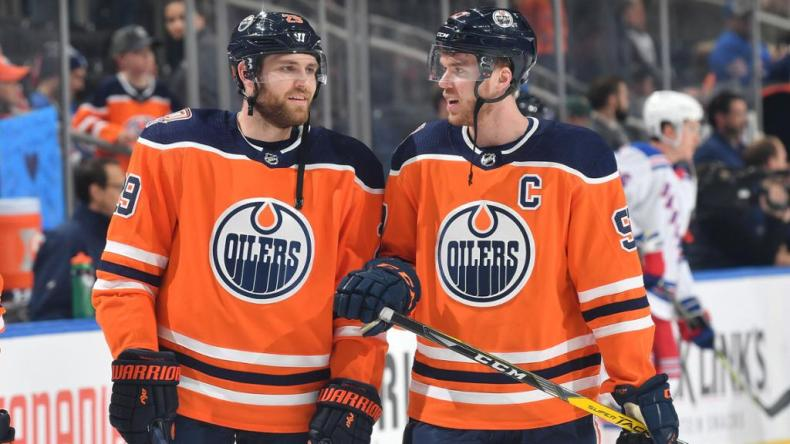 McDavid, Draisaitl buy into Oilers' team concept, coach says