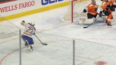 Lazar, Reinhart power Sabres past Flyers for first win of season