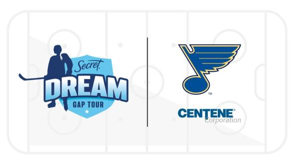 Blues partner with PWHPA to host 2021 Secret® Dream Gap Tour Showcase
