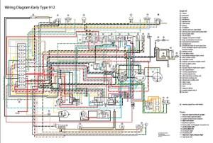 Electrisch schema 912 '65'67  Elektrische installatie