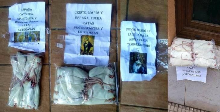 Santander | Llenan de ratas muertas un templo evangélico esta Navidad