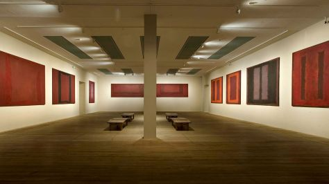 Image result for Mark Rothko room at the Tate Gallery.