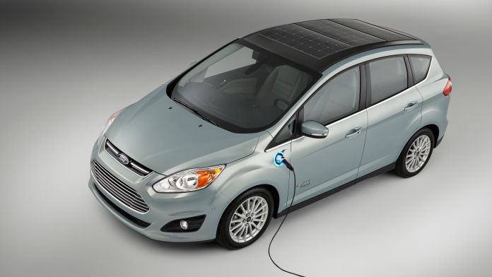 ford's solar-powered electric car takes transportation off the grid