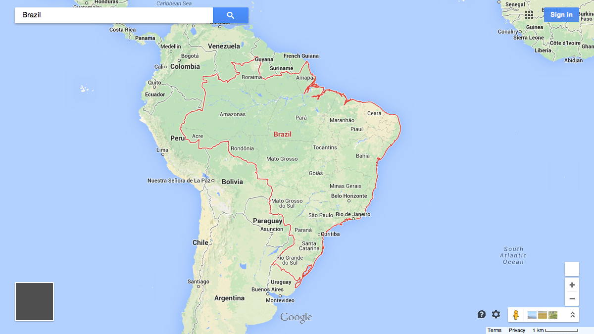 Here are the 32 countries Google Maps wont draw borders