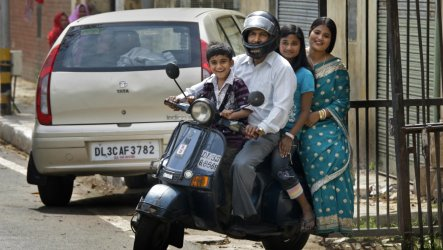 class middle india indian poor economy actually shrunk killed honey scooter quality there bajaj ap 1600 delhi 1400 years