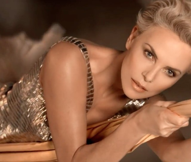 Charlize Theron In A Still From Diors The Future Is Gold Commercial