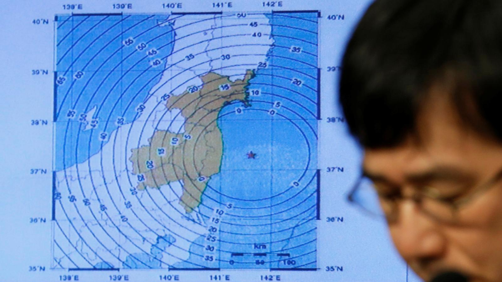 hight resolution of the latest earthquake in japan was an aftershock of the one five years ago